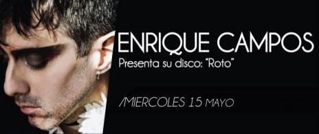 Enrique Campos Presenta Disco