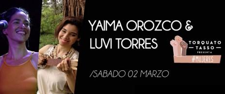Yaima Orozco y Luvi Torres