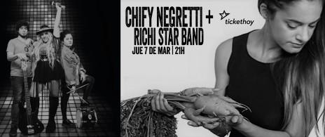 CHIFY NEGRETTI + RICHI STAR BAND