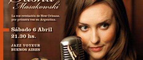 Sasha Masakowski en Jazz Voyeur