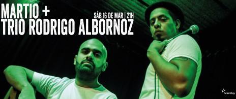 MARTIO + TRIO RODRIGO ALBORNOZ