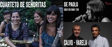 Calvo - Varela / Cuarteto de señoritas - De Paolo