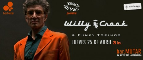 WILLY CROOK & THE FUNKY TORINOS