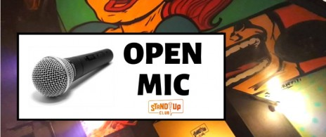 Open Mic del Stand Up Club - Recoleta