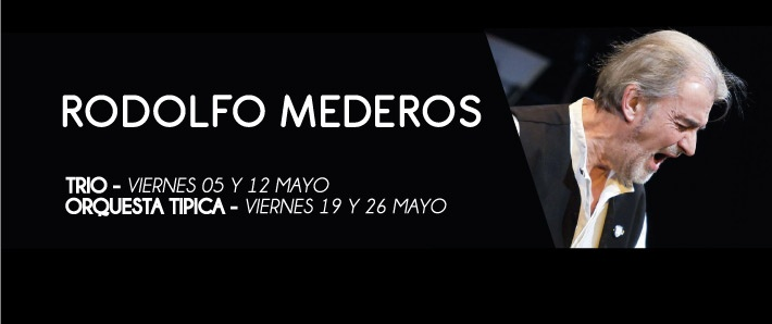 Rodolfo Mederos -orquesta tipica /trio
