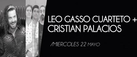 Leo Gasso Trio + Cristian Palacios