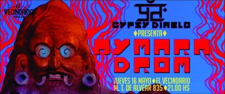 Gypsy Diablo presenta Aymara Drom