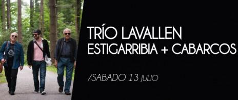 Trío Víctor Lavallén Pablo Estigarribia y Horacio Cabarcos