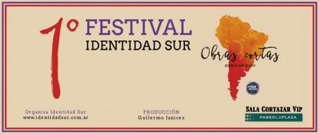 1er Festival Identidad SUR de Obras Cortas del Paseo La Plaza