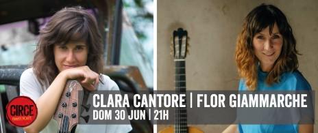 Clara Cantore y Flor Giammarche