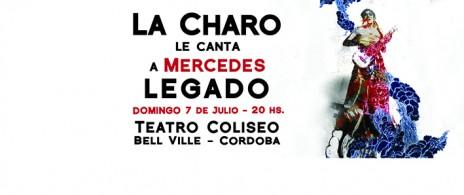 La Charo le canta a Mercedes