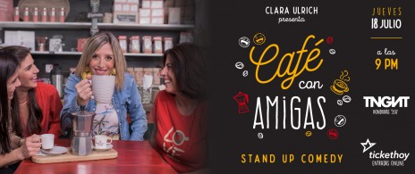 """Clara Ulrich """"Café con amigas"""""""
