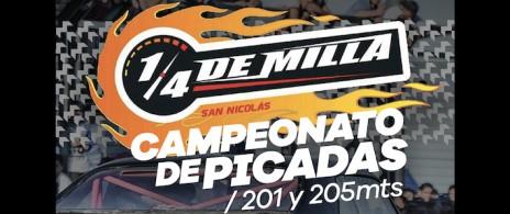 Campeonato de picadas 250 y 201 mts.