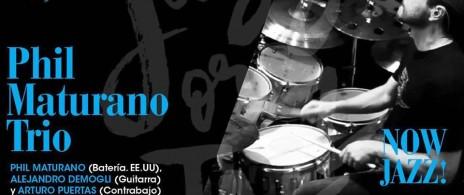 Phil Maturano trio with Arturo Puertas & Ale Demogli (EEUU)