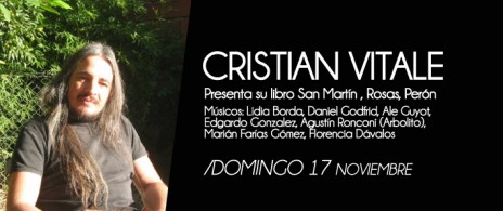 Cristian Vitale Presenta Libro