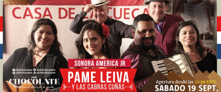 Pame Leiva y Las cabras cuñás + Sonora América Jr.