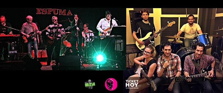 Espuma + The Brets en La Oreja Negra