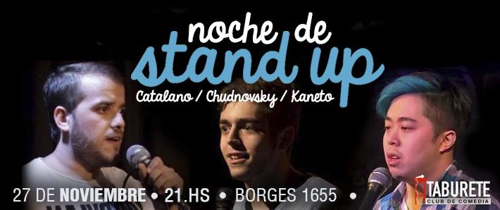 Noche de Stand Up en Taburete - Stand Up en Plaza Serrano