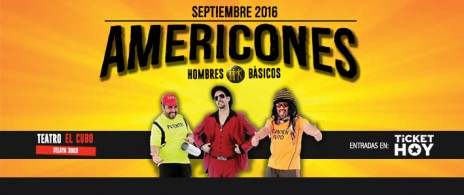 AMERICONES-HOMBRES BASICOS