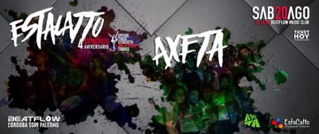 EstaCatto celebra su 4to Aniversario Junto Axeta!