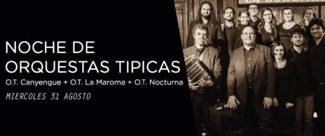 NOCHE DE ORQUESTAS TIPICAS