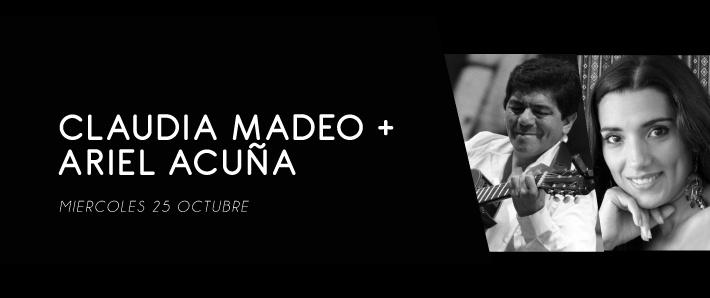 Claudia Madeo + Ariel Acuña