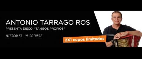 Antonio Tarrago Ros Presenta Disco