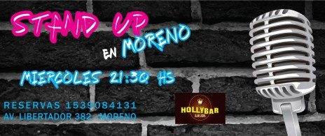 LADO B Stand Up en Moreno