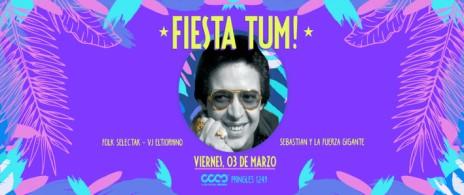 Fiesta TUM!: Orquesta Sebastián + Fuerza Gigante + Folk Selectak