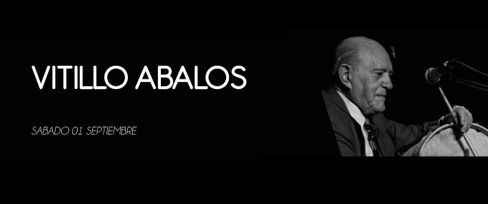 Vitillo Abalos: Festeja sus 95 años en el Tasso