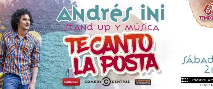 TE CANTO LA POSTA (Humor y música)