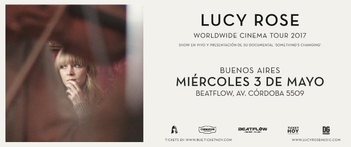 Lucy Rose Worldwide Cinema Tour 2017