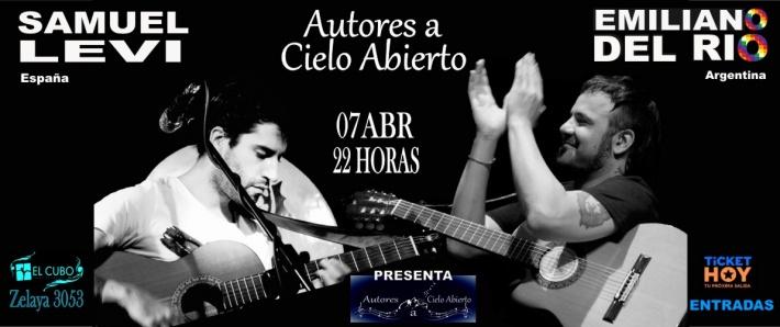 Autores a Cielo Abierto - Emiliano Del Rio - Samuel Levi