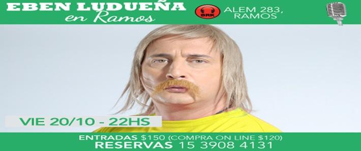 Eber Ludueña en Ramos Mejía