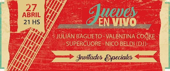 #JuevesEnVivo