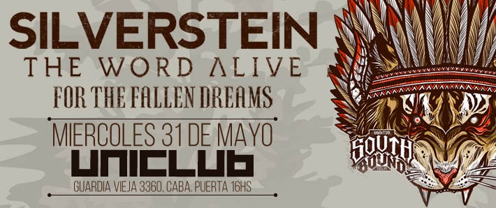 Silverstein + The Word Alive + For the Fallen Dreams