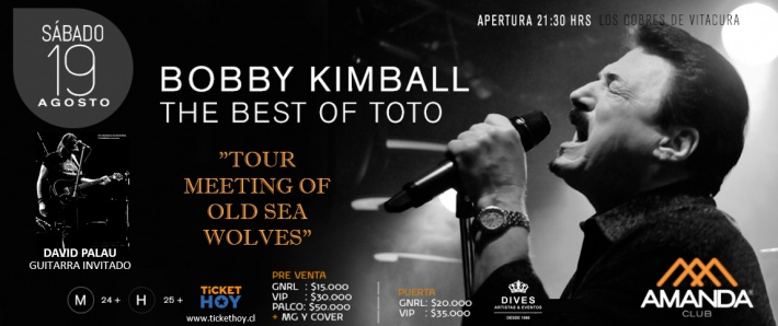 Bobby Kimball  The Best of Toto  - En Amanda