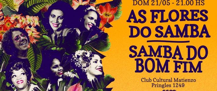 As Flores do Samba y Samba do Bom Fim