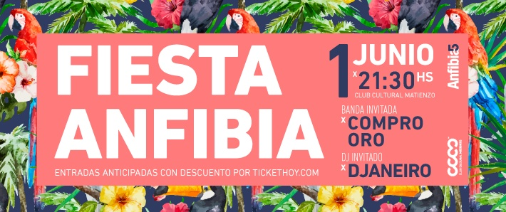 Fiesta Anfibia 5 Años