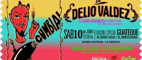 Cumbión Guateque! La Delio Valdez <> Monte Grande