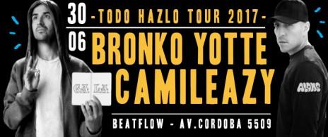 Bronko Yotte & Camileazy - Todo Hazlo Tour