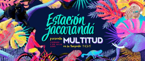 Estación Jacarandá en La Tangente