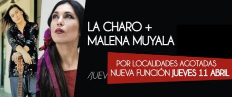 CHARO BOGARIN + MALENA MUYALA