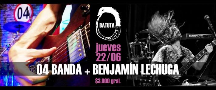 04 BANDA + BENJAMÍN LECHUGA / 22 junio Batuta