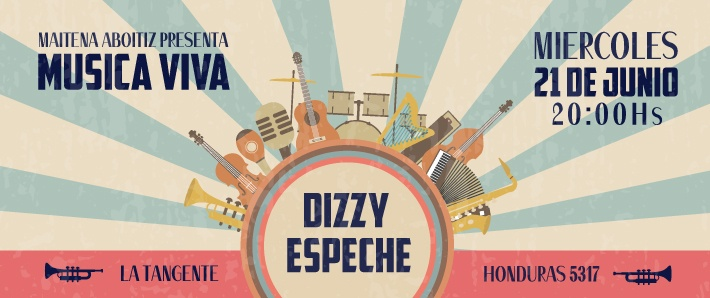 Ciclo Música Viva presenta a Dizzy Espeche