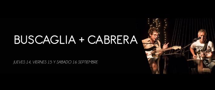 BUSCAGLIA + CABRERA
