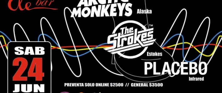 Tributos a The Strokes, Placebo y Arctics Monkeys en ELE BAR