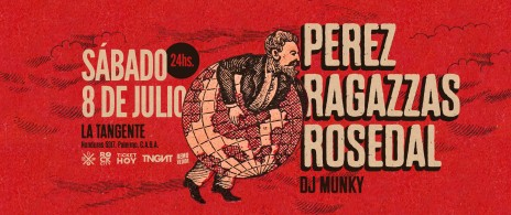 Perez, Ragazzas y Rosedal (Rosario) en La Tangente