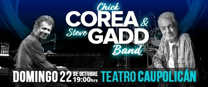 COREA GADD BAND - CHICK COREA y STEVE GADD JUNTOS
