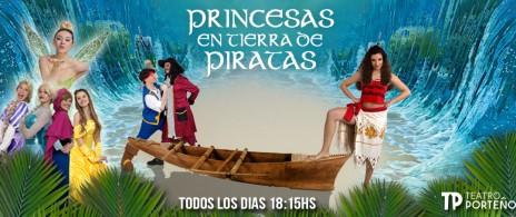 Princesas en Tierra de Piratas.
